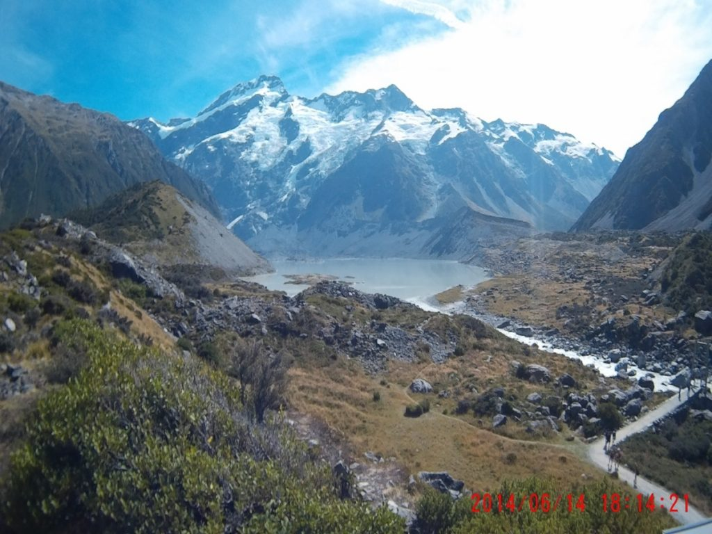 Parque nacional Nueva Zelanda