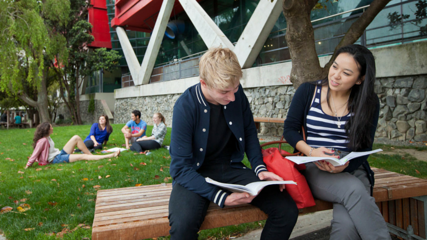 Estudiantes en Nueva Zelanda