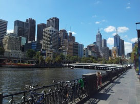 foto río Yarra melbourne Australia